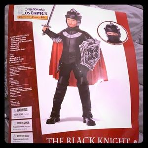 Kids black night costume